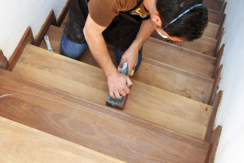 refinishing-wood-stairs